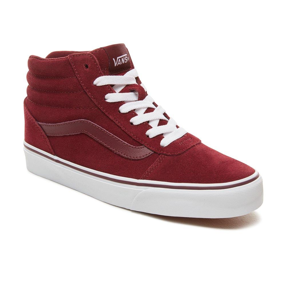 Vans Ward Hi Red buy and offers on Dressinn