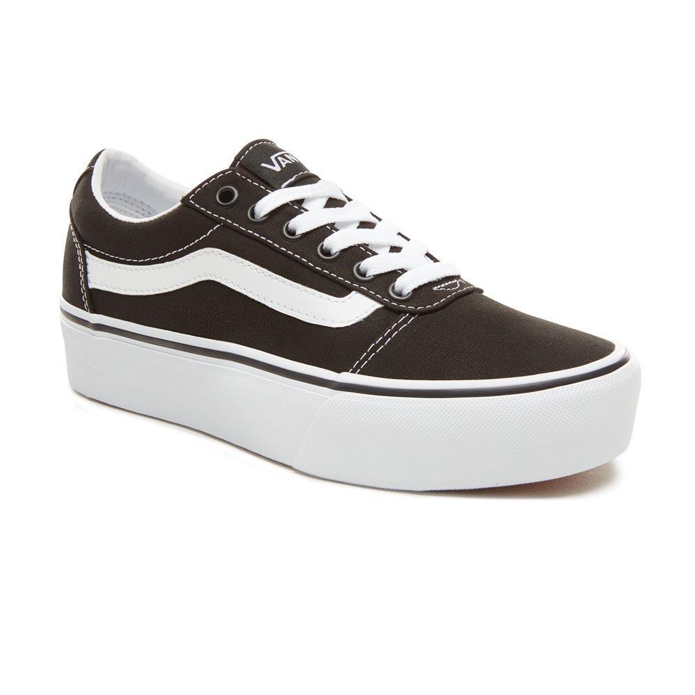 942c4a0ea598 Vans Ward Platform Black buy and offers on Dressinn