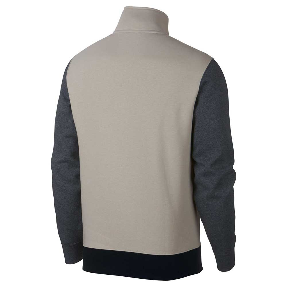 c7eb19a561a9 Nike Sportswear Club BB TRND Half Zip Beige
