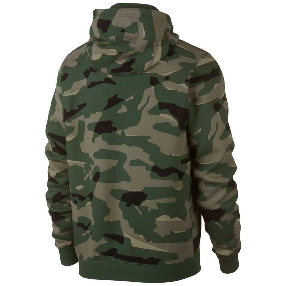 Sweatshirts Nike Sportswear Club Camo Bb Full Zip Hoody