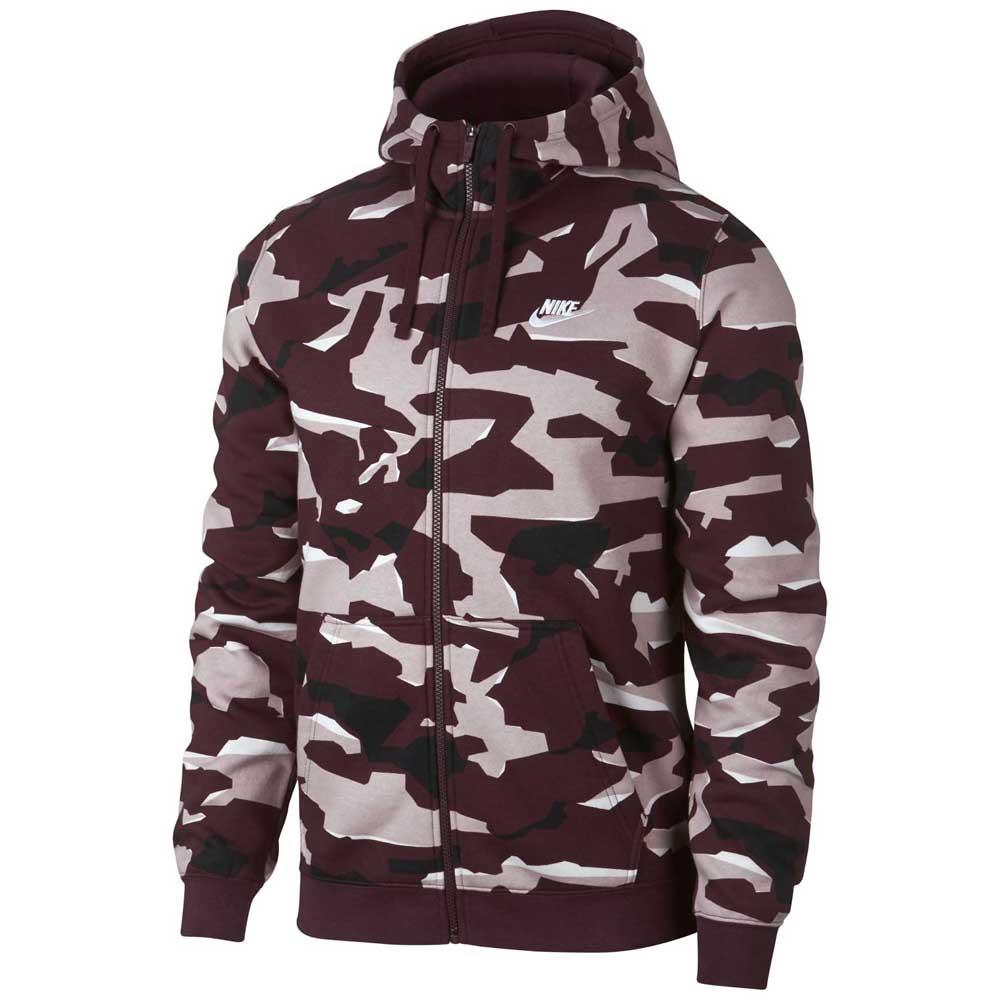 Nike Sportswear Club Camo BB Full Zip Hoody