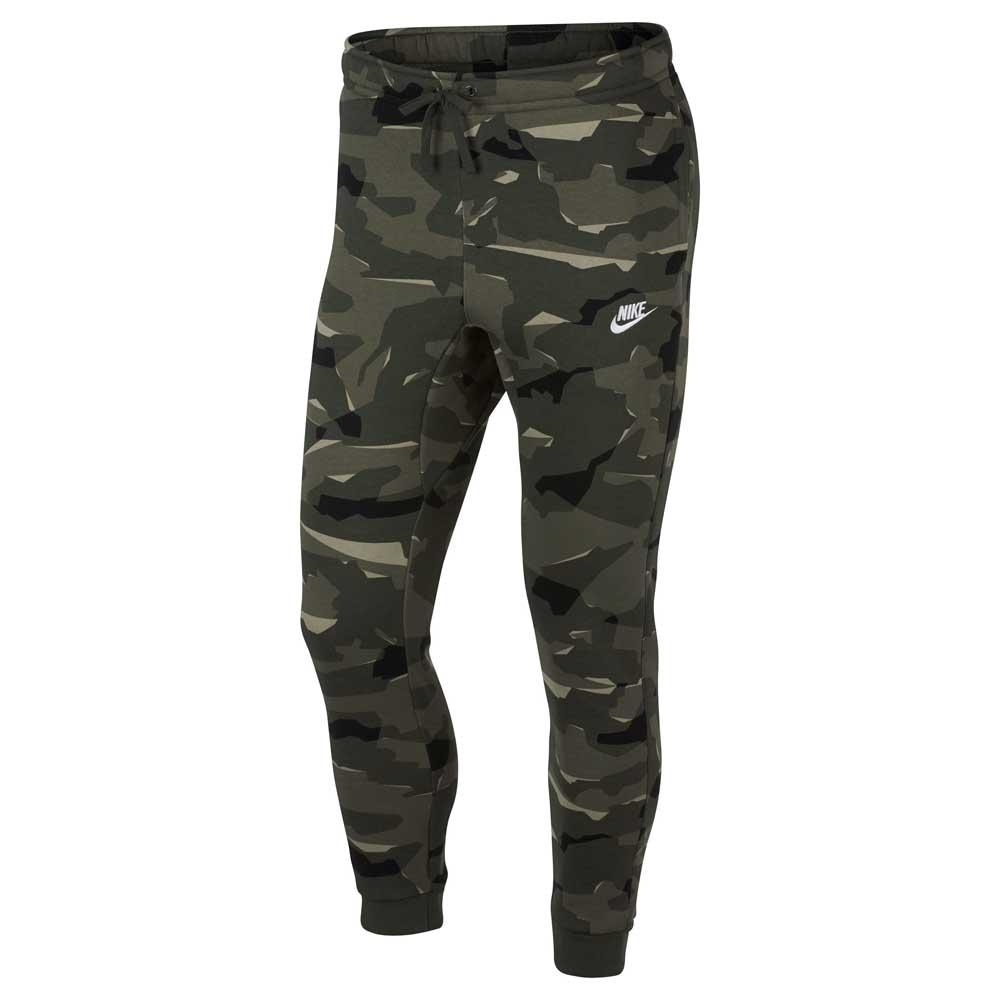 d77d8eb6ed1986 Nike Sportswear Club Camo BB Jogger Pants Tall Grön, Dressinn Byxor