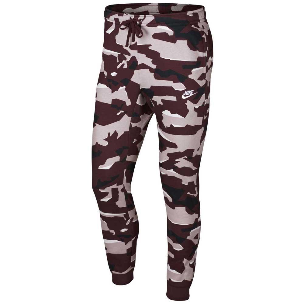 9e26a89a5a2972 Nike Sportswear Club Camo BB Jogger Purple, Dressinn