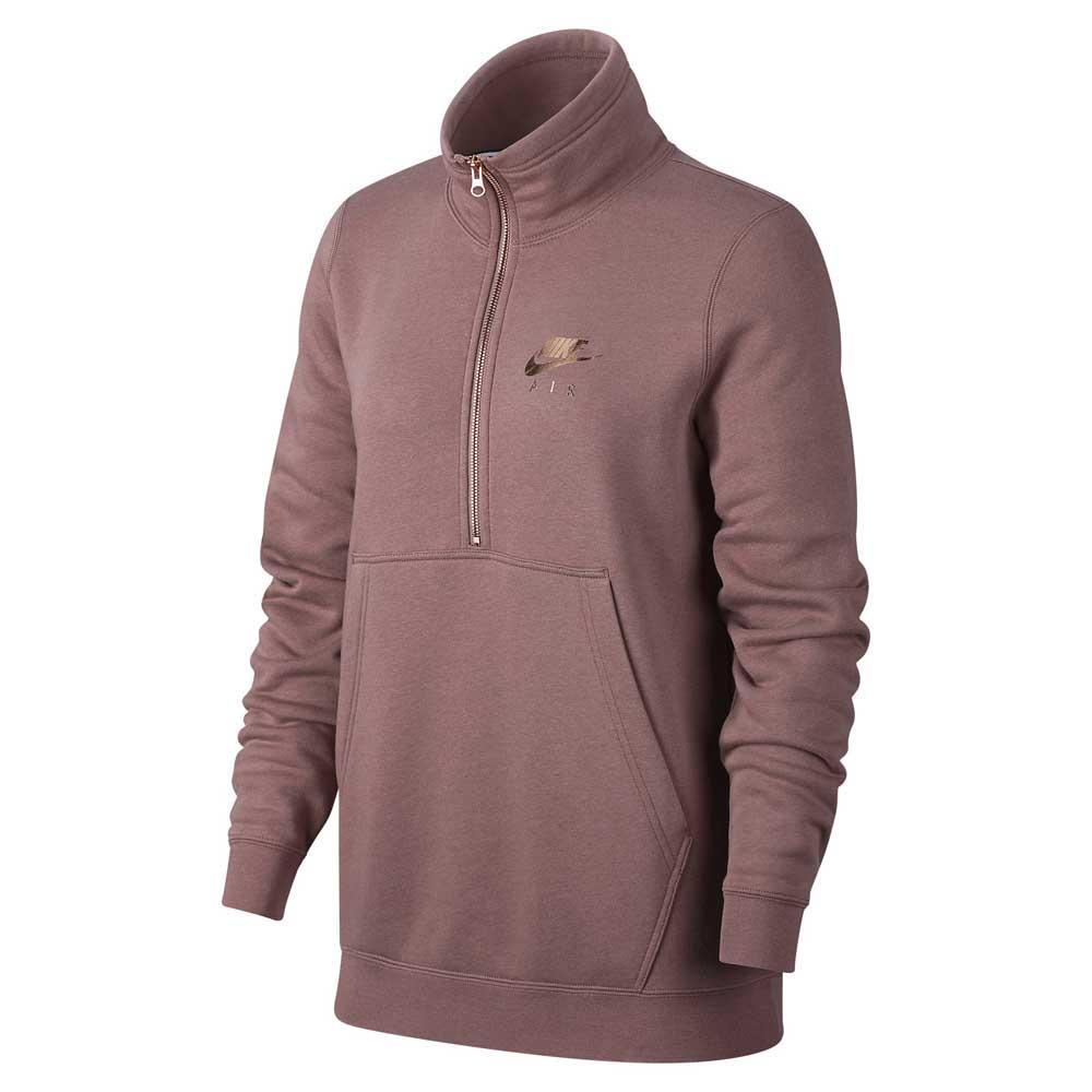 Nike Sportswear Air Half Zip Brun köp och erbjuder, Dressinn