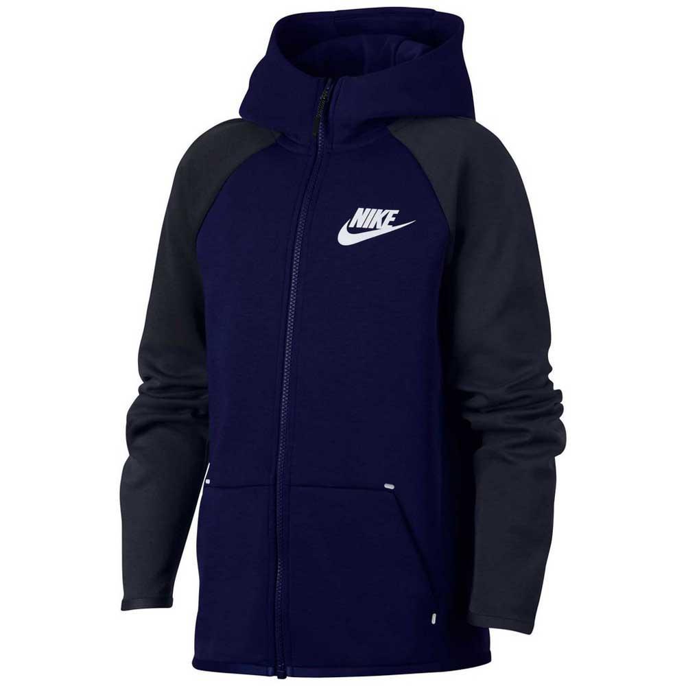 NIKE jacket, Cottony fabric, BLUE