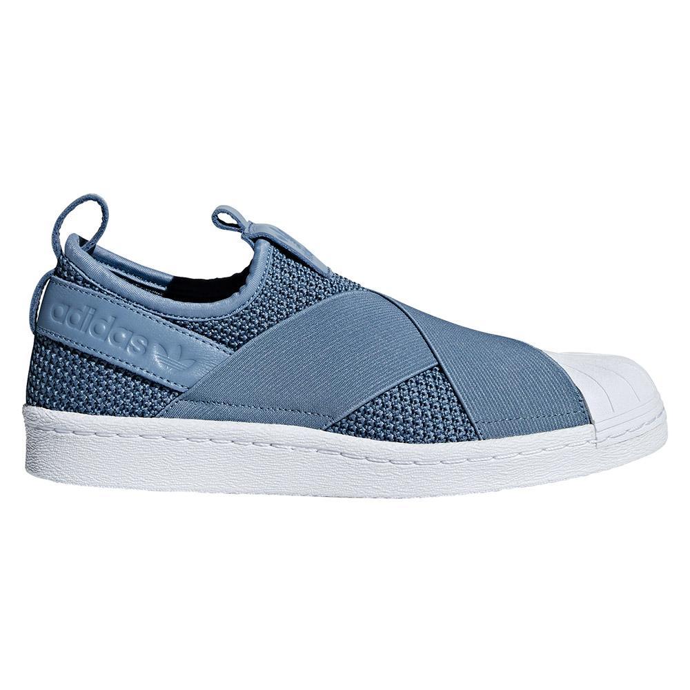 adidas originals Superstar Slip On Blå, Dressinn Sneakers