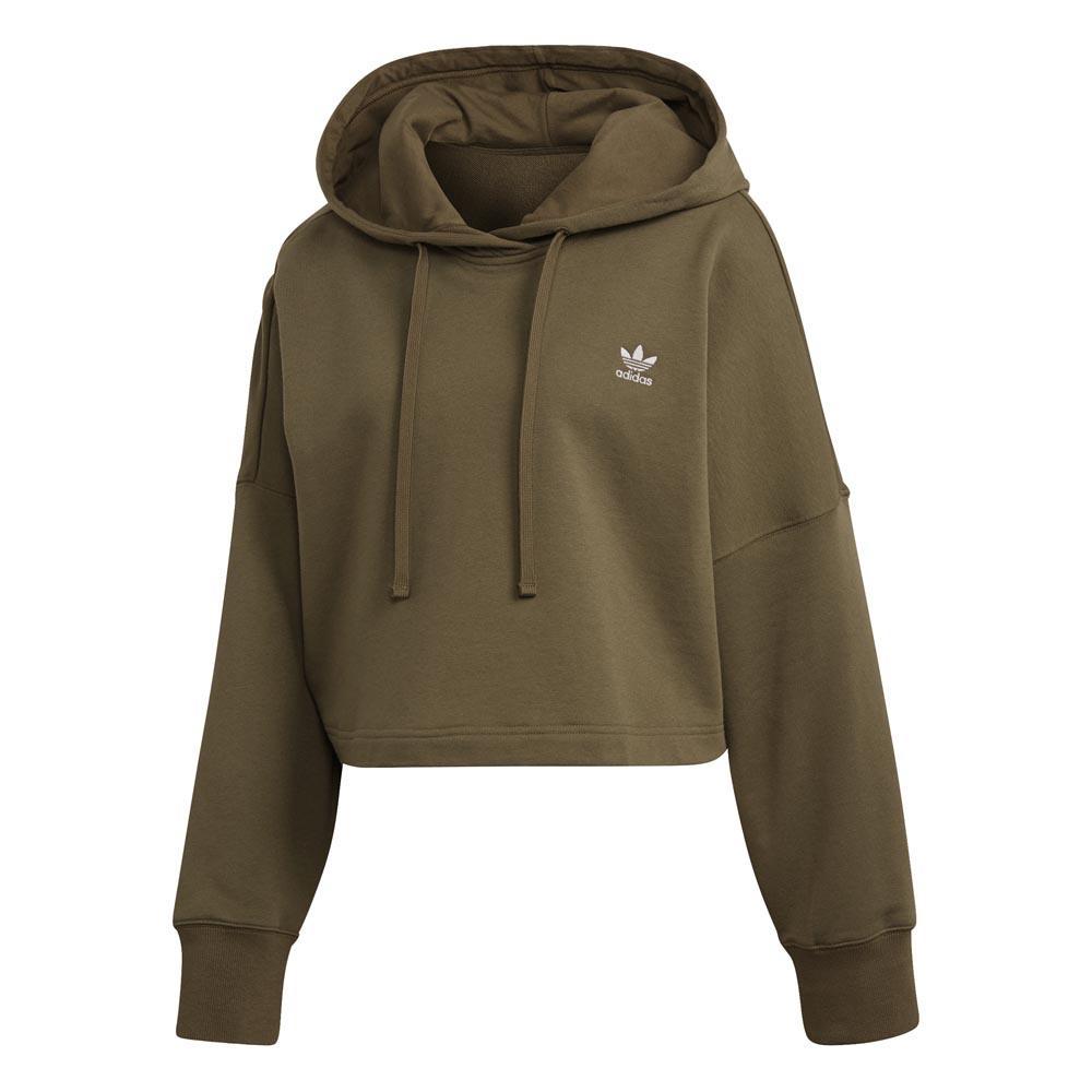 adidas hoodie green