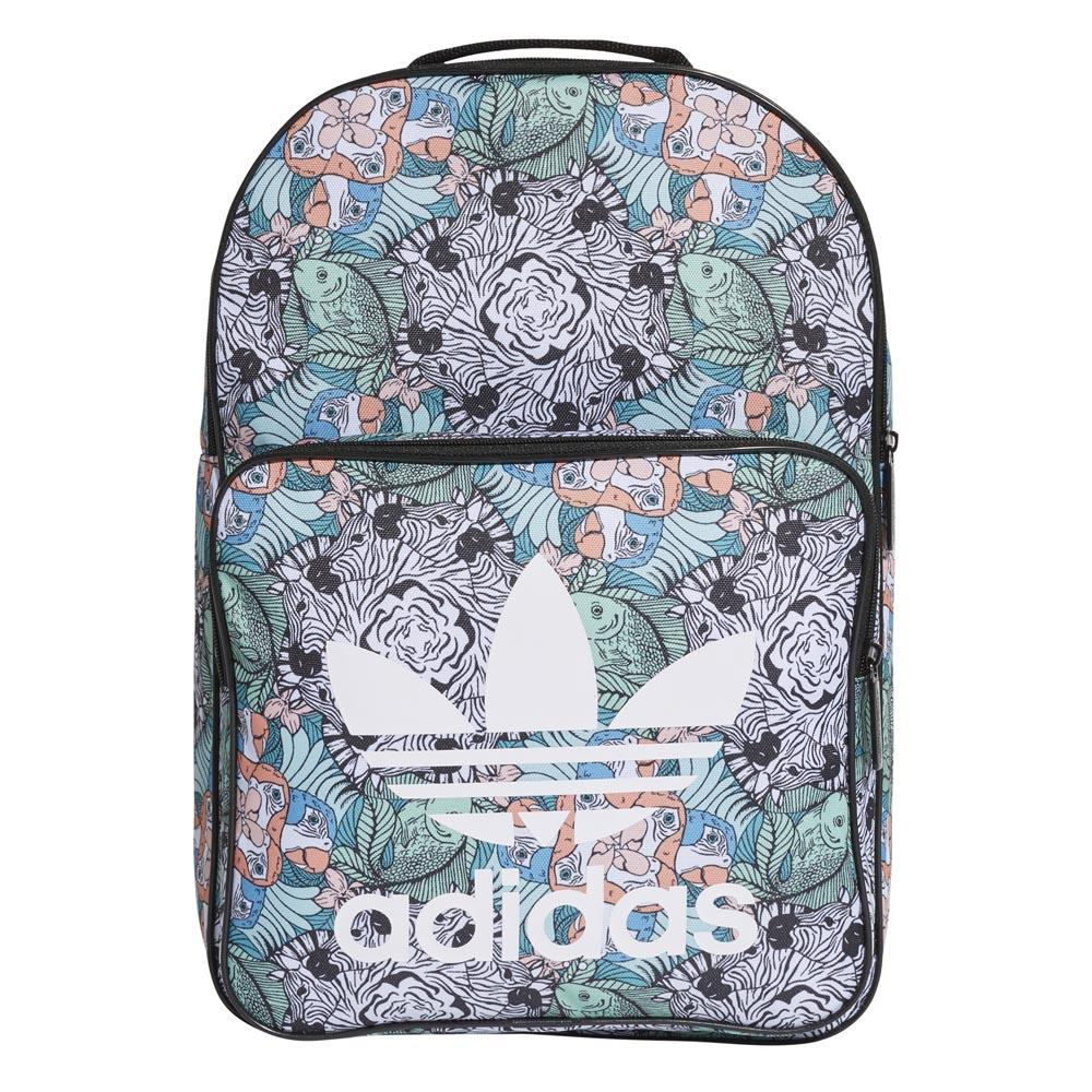adidas Originals Blue Leopard Print Classic Backpack