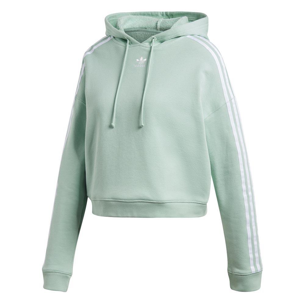 adidas hoodie vert
