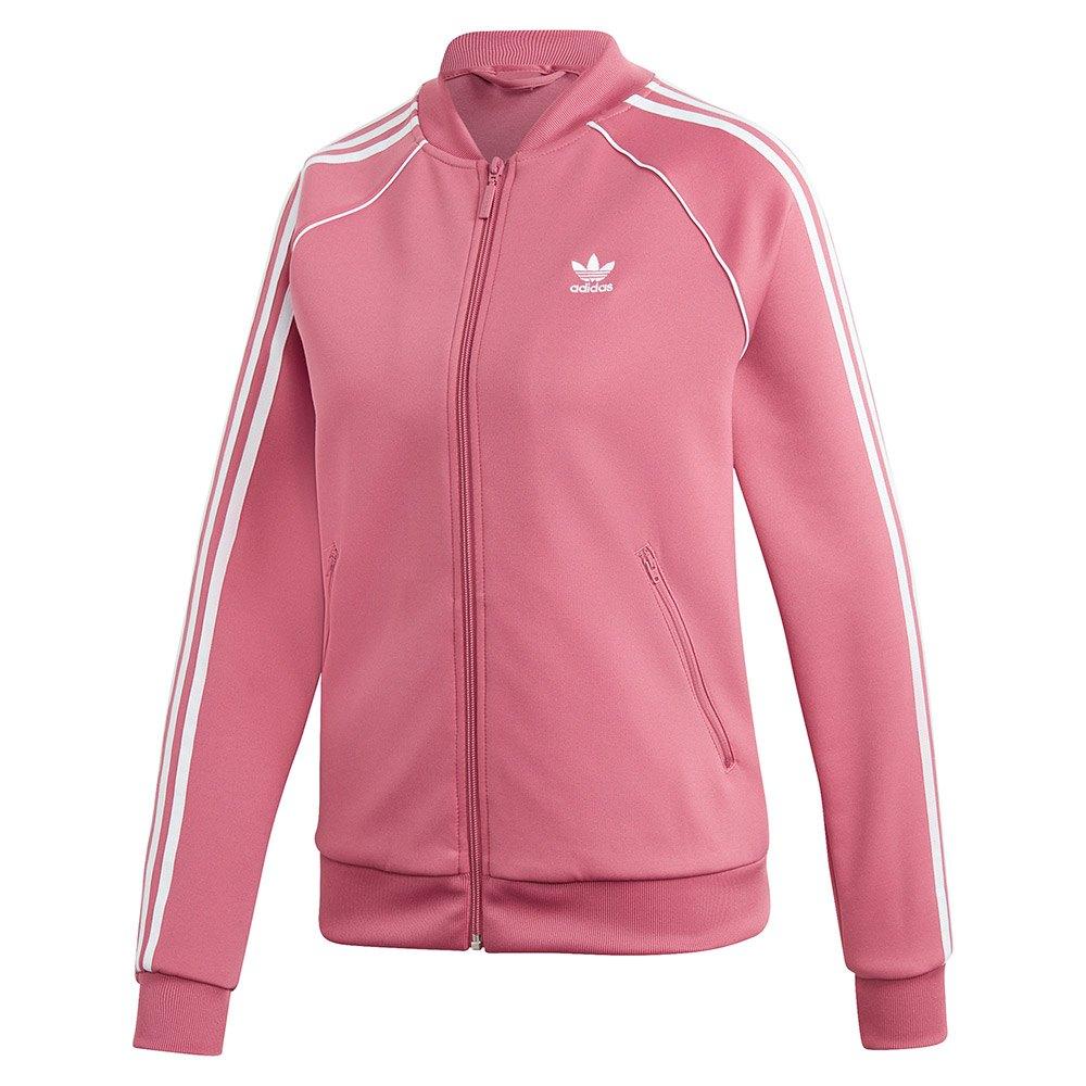 adidas rosa jakke