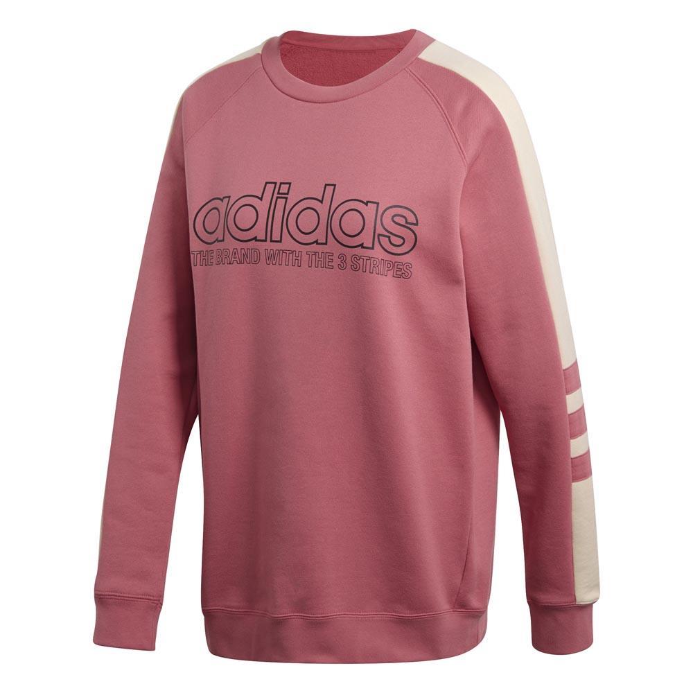 adidas originals Sweatshirt Rosa kjøp og tilbud, Dressinn