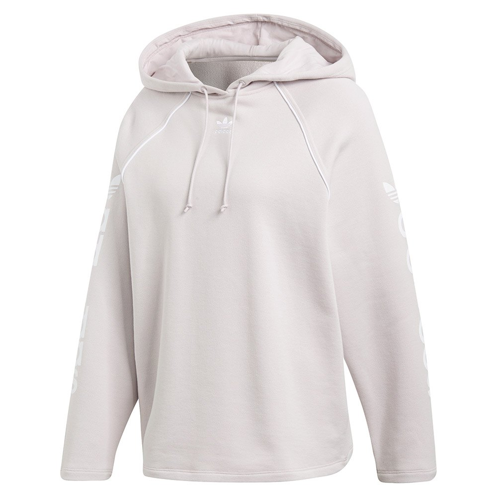 4138cfe8fca adidas originals Hoodie White buy and offers on Dressinn
