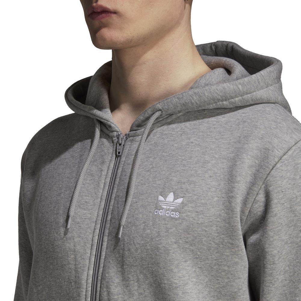 ADIDAS TREFOIL WARM UP Crew Linen Herren Pullover Sweatshirt