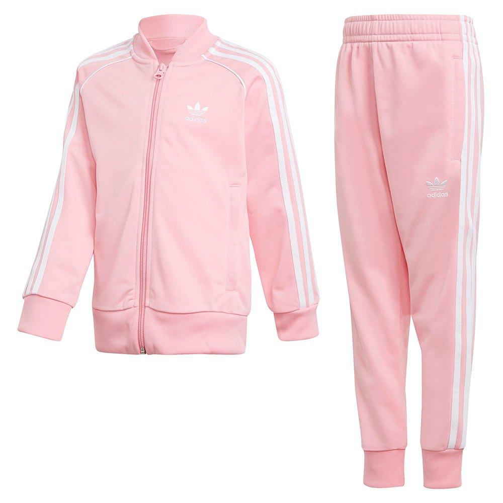 adidas träningsoverall rosa