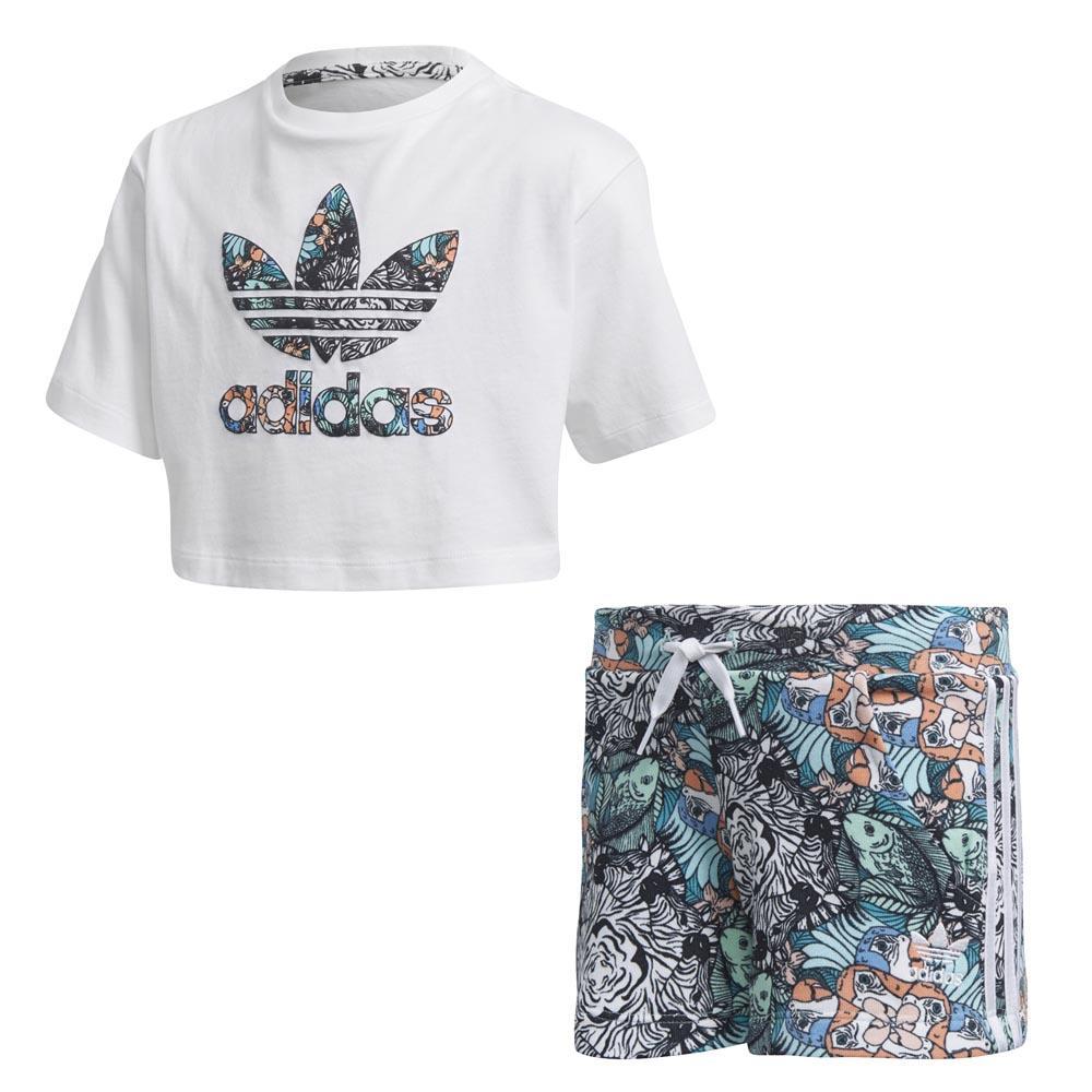 adidas originals Zoo Biały kup i oferty, Dressinn Koszulki