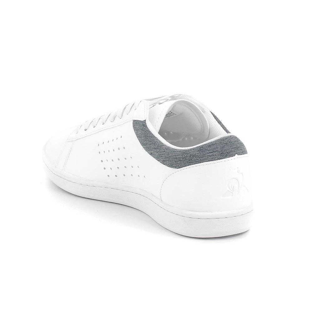 27a176626a4 Le coq sportif Courtset Craft White buy and offers on Dressinn