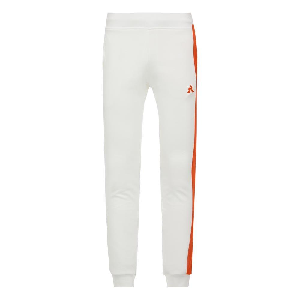 ddcd4ac4b0c Le coq sportif ESS Saison Pants Slim N1 White, Dressinn