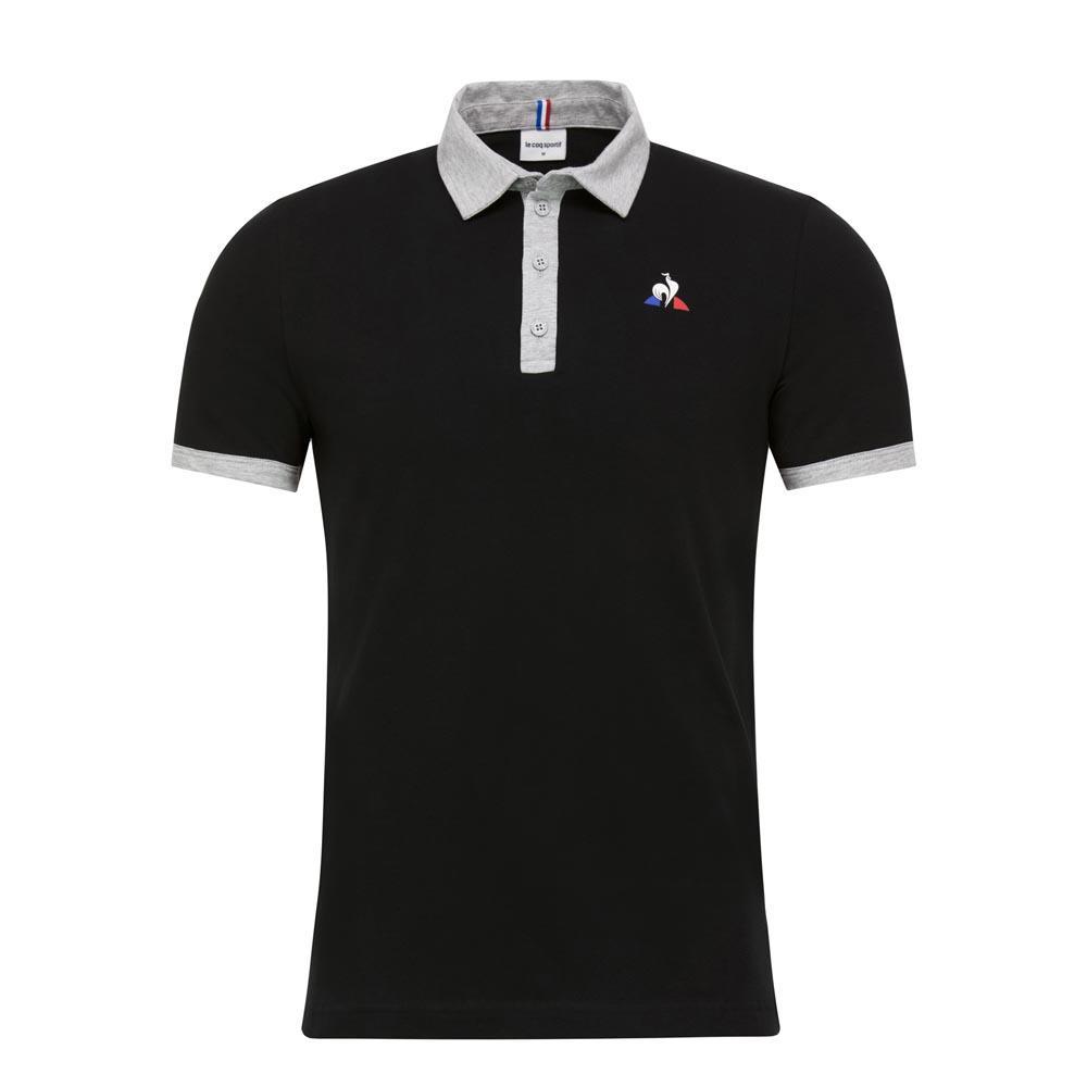 d309c45a46d Le coq sportif ESS S/S N1 Black buy and offers on Dressinn