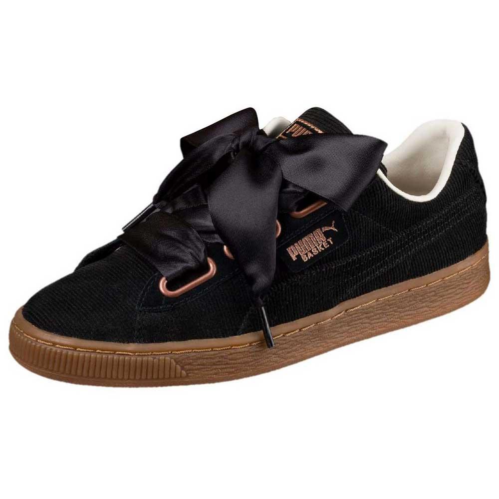 Puma select Basket Heart Corduroy Black