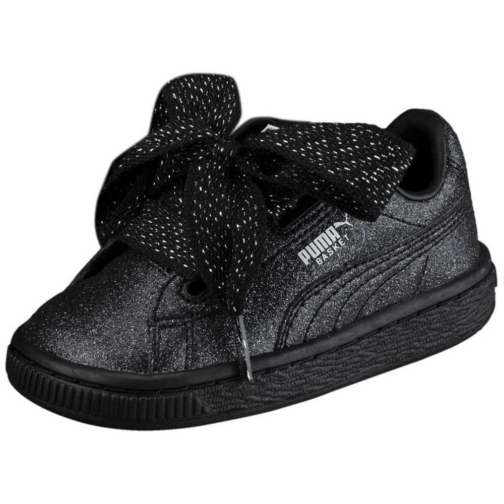 859c93e1981c92 Puma select Basket Heart Holiday Glamour Infant Black