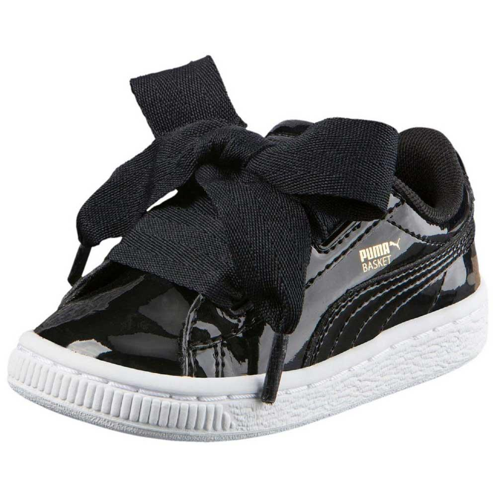 943d237c96409f Puma select Basket Heart Patent Infant Black