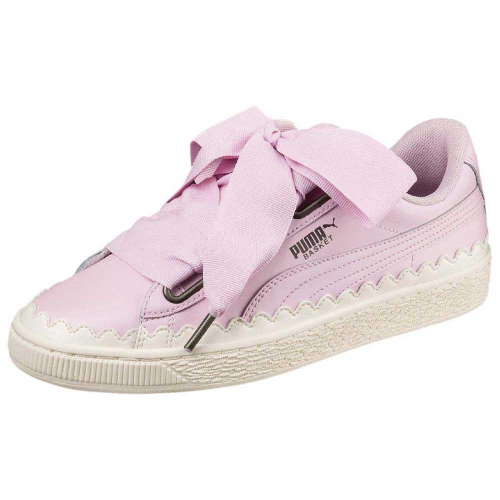 Puma select Basket Heart Scallop Pink buy and offers on Dressinn a3cd9d30e