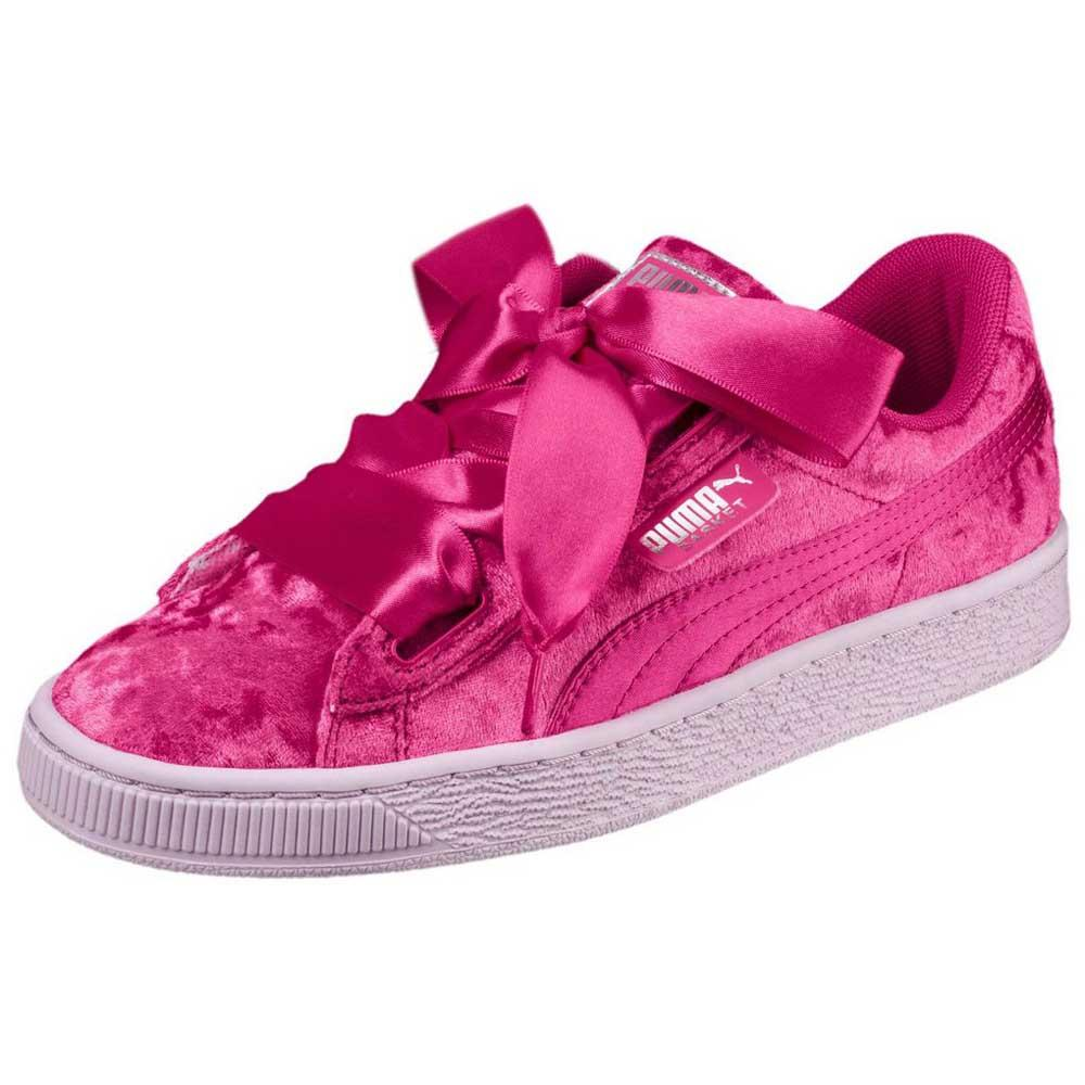 c8140d87dbe Puma select Basket Heart Velour Pink buy and offers on Dressinn