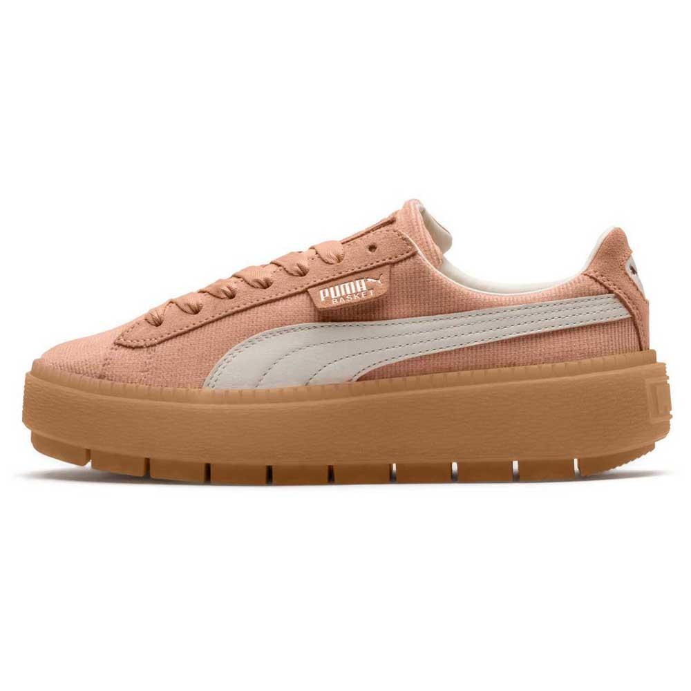 Puma select Platform Trace Corduroy Oransje, Dressinn Sneakers