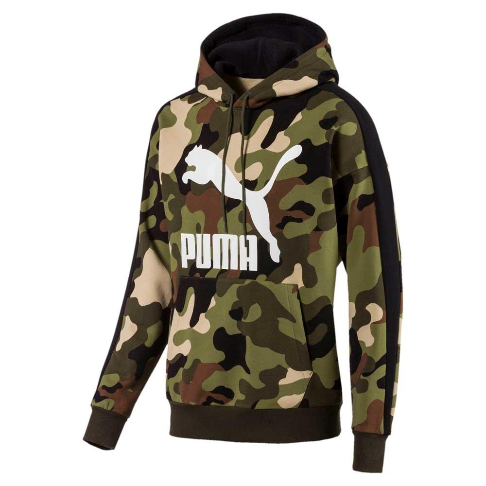 645b26ec3e Puma select Wild Pack Aop Hooded Green, Dressinn