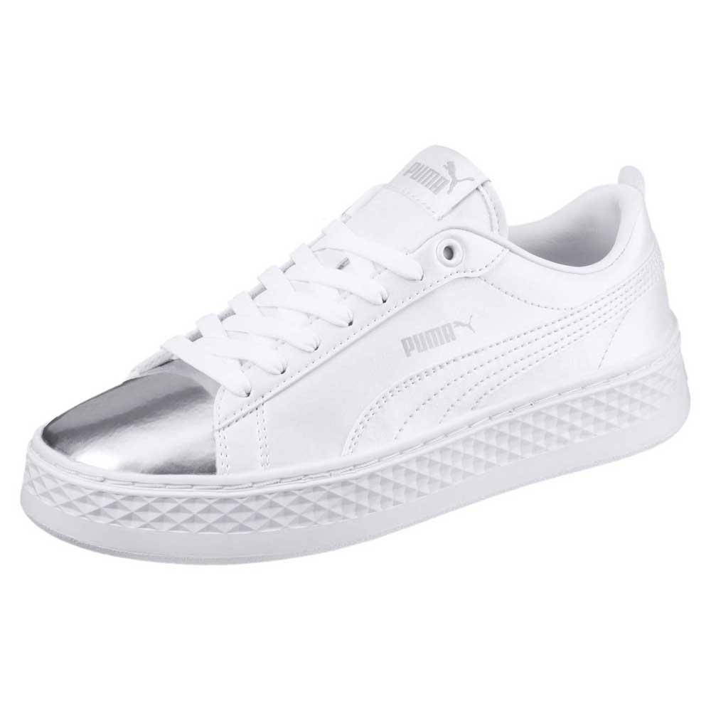 7e5648e815b Puma Smash Platform LX White buy and offers on Dressinn