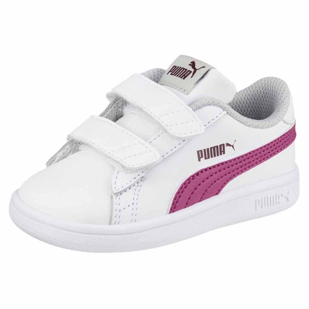 Puma Smash V2 L Velcro Infant Weiß, Dressinn