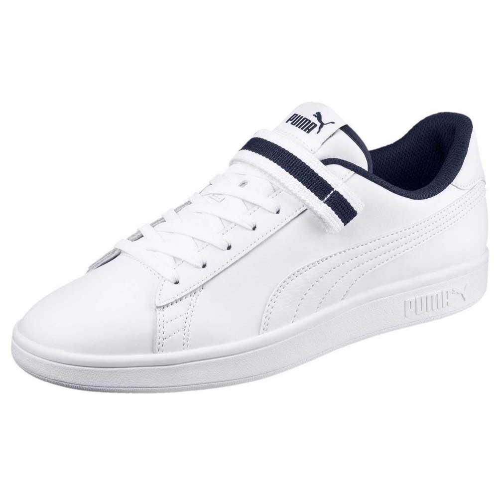 c75f9c7bd19c Puma Smash V2 Velcro Fresh White buy and offers on Dressinn