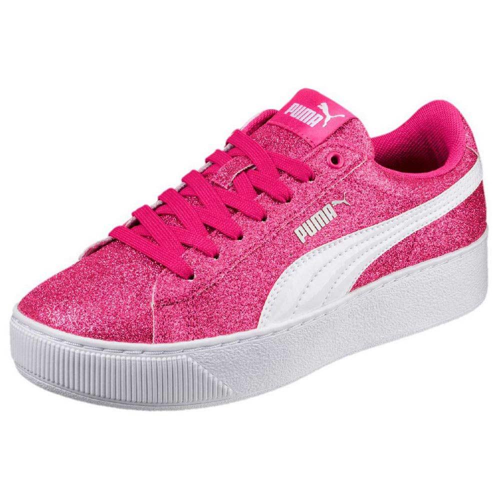 Puma Vikky Platform Glitz Pink buy and offers on Dressinn 4e53ff4f1