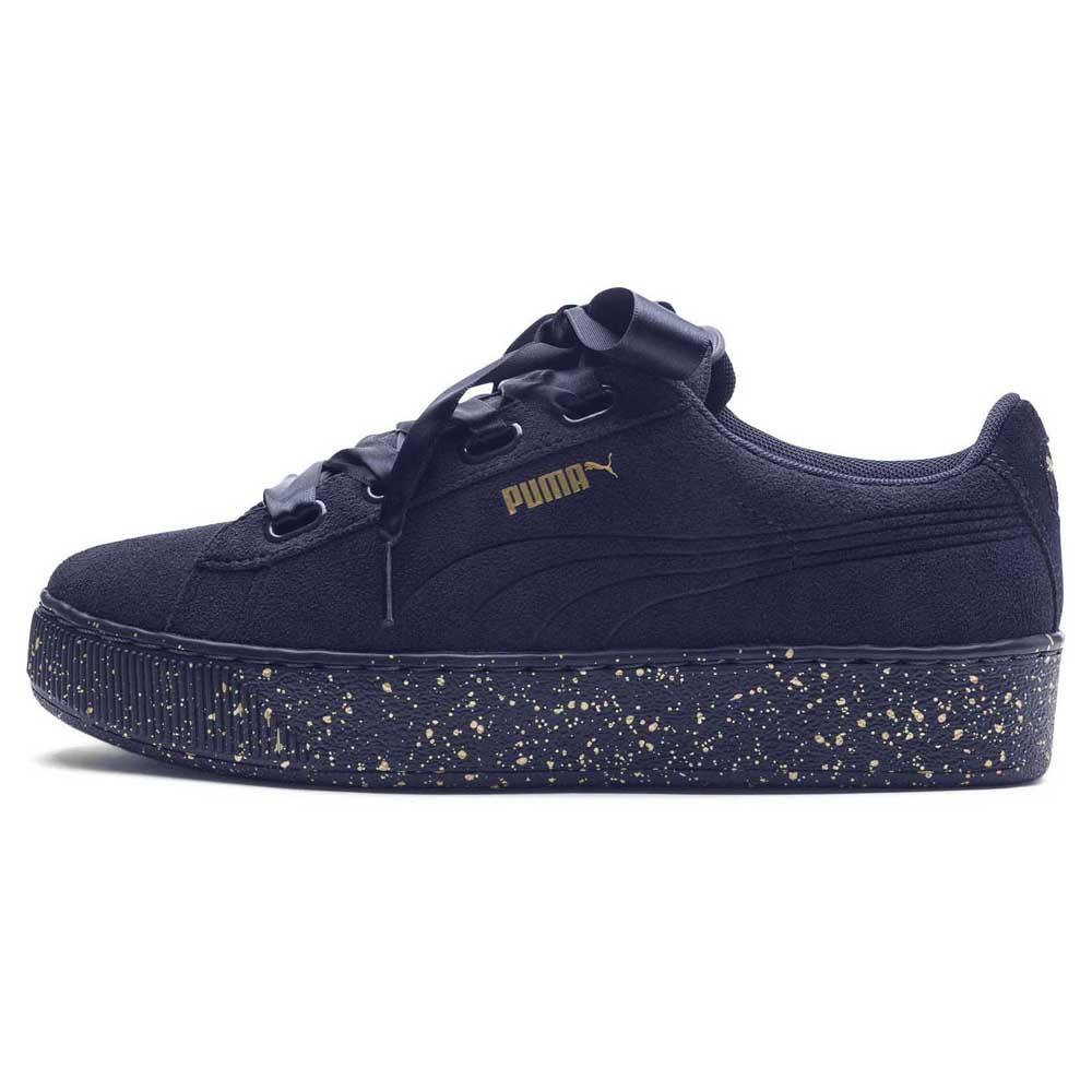 edd8d39ba49 Puma Vikky Platform Ribbon Dots Blue buy and offers on Dressinn