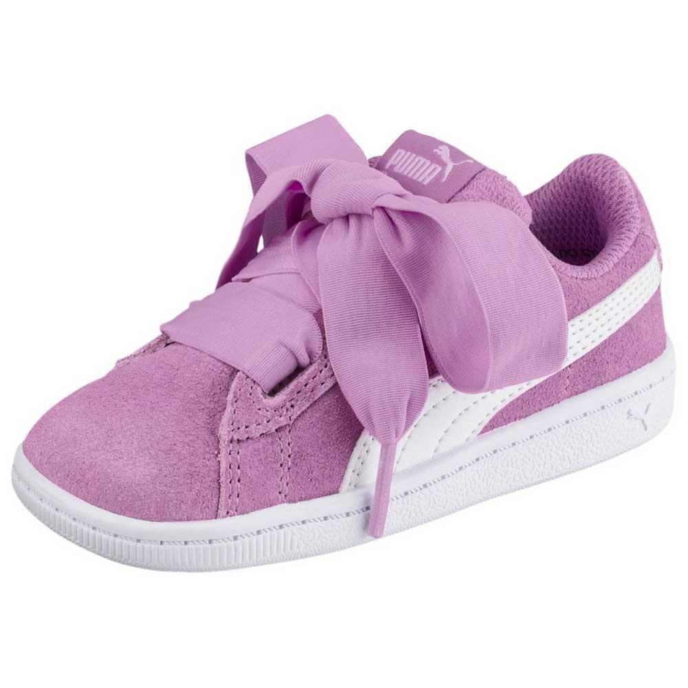 Puma Vikky Ribbon AC Infant Pink buy and offers on Dressinn c48775030