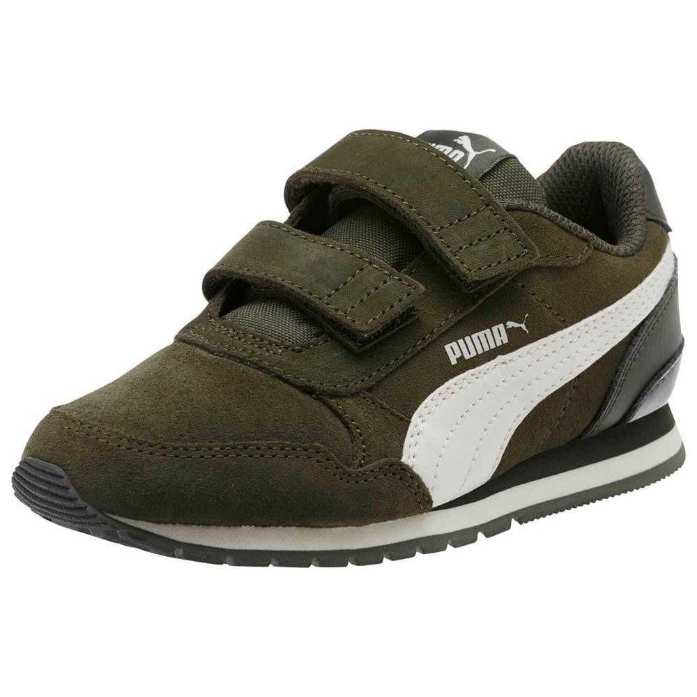 Puma ST Runner V2 SD Velcro PS Groen, Dressinn Sneakers