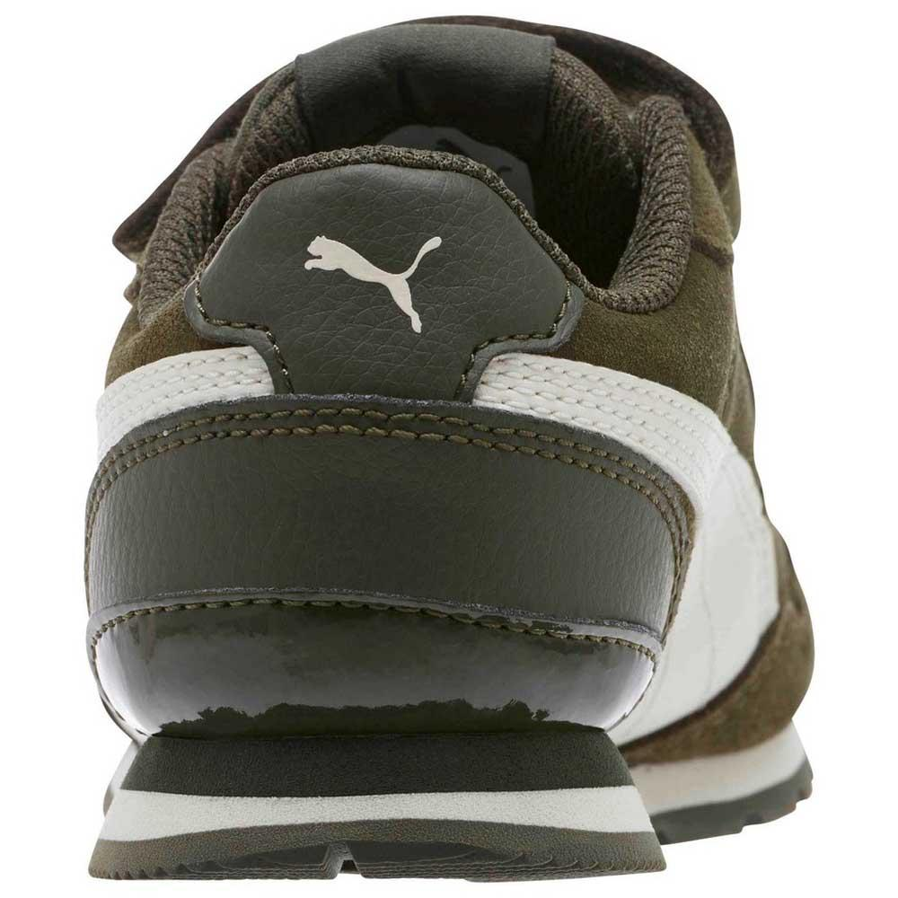 collar escaramuza Marty Fielding  Puma ST Runner V2 SD Velcro PS Verde, Dressinn Sneakers