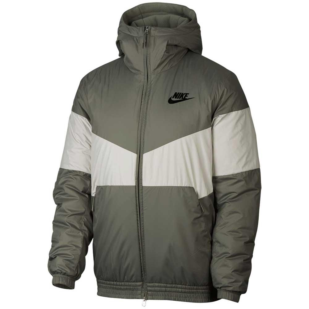 info for 0dca4 552ba Nike Sportswear Synthetic Fill Hooded Green, Dressinn