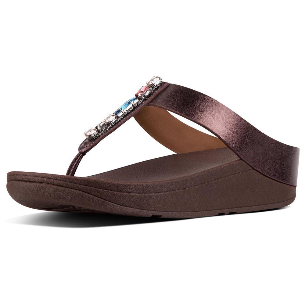 Fitflop Fino Bejewelled Red buy and