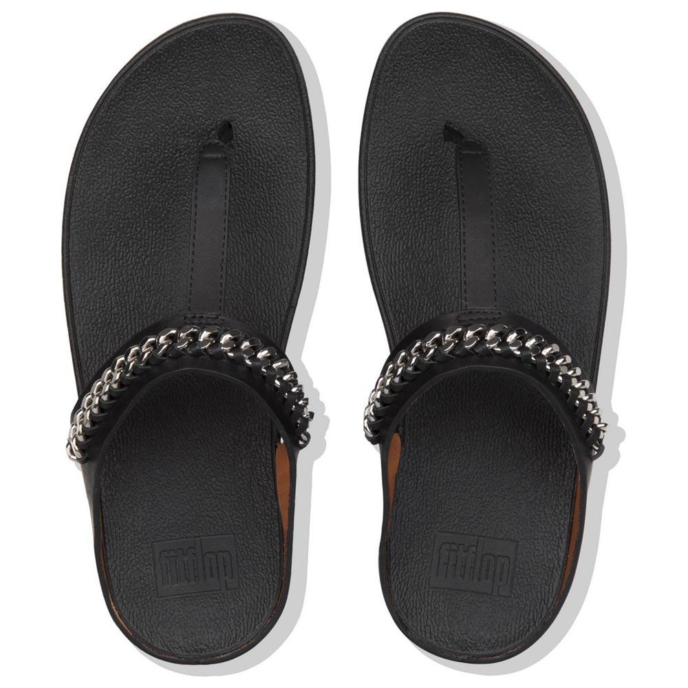 4952fb300 Fitflop Fino Chain Black buy and offers on Dressinn