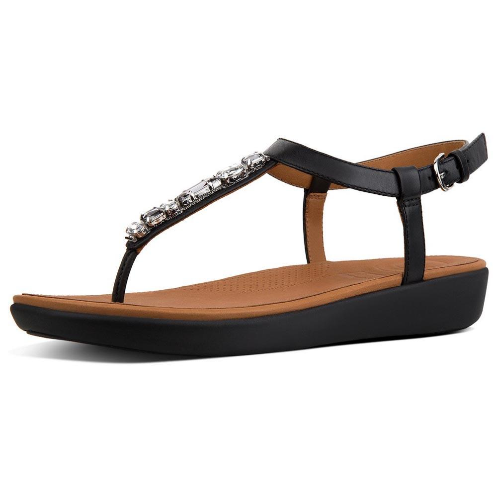 Fitflop Tia Bejewelled Black buy and offers on Dressinn 8bf5353e857e