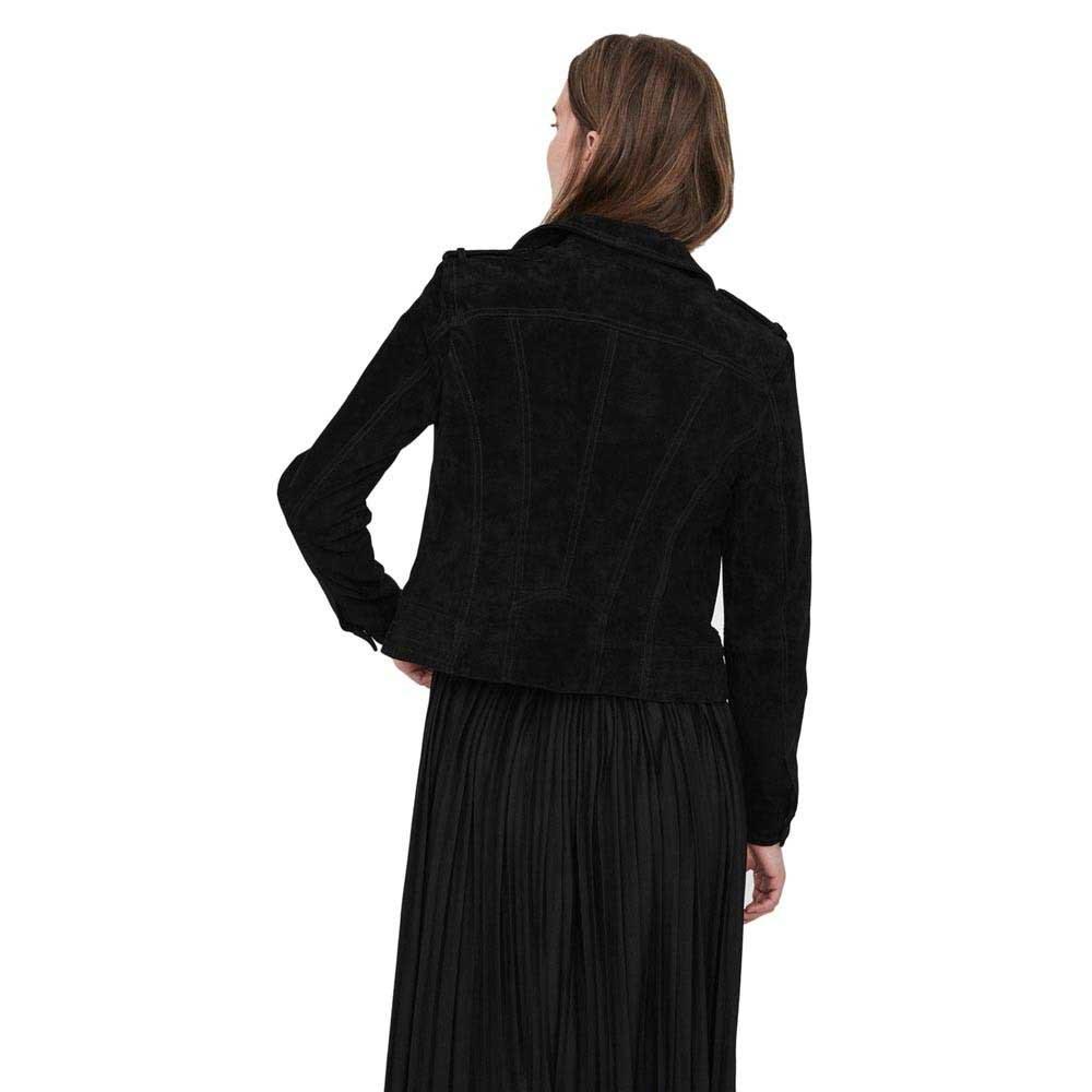 giacche-vero-moda-royce-short-suede