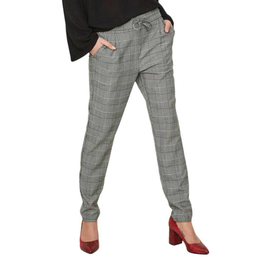 Pantalons Vero-moda Eva Mr Loose String Checked L32
