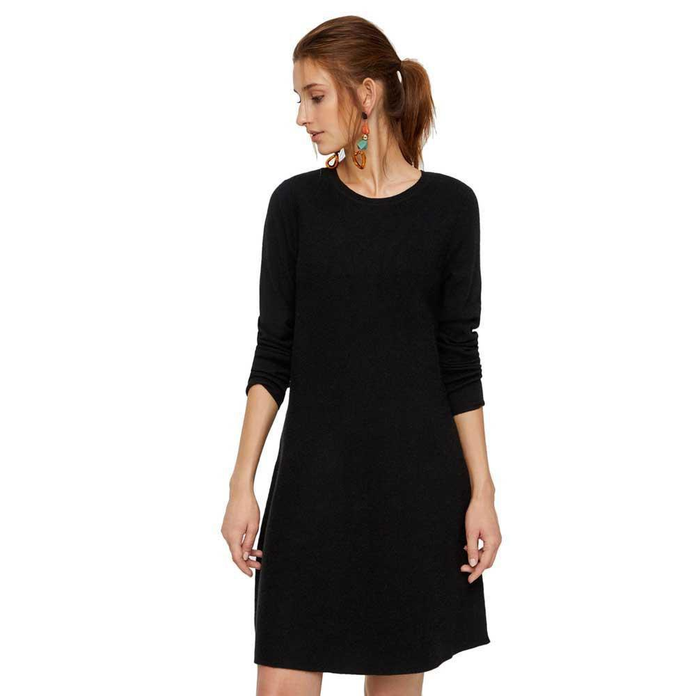 dc8df831 Vero moda Nancy L/S Knit Sort køb og tilbud, Dressinn