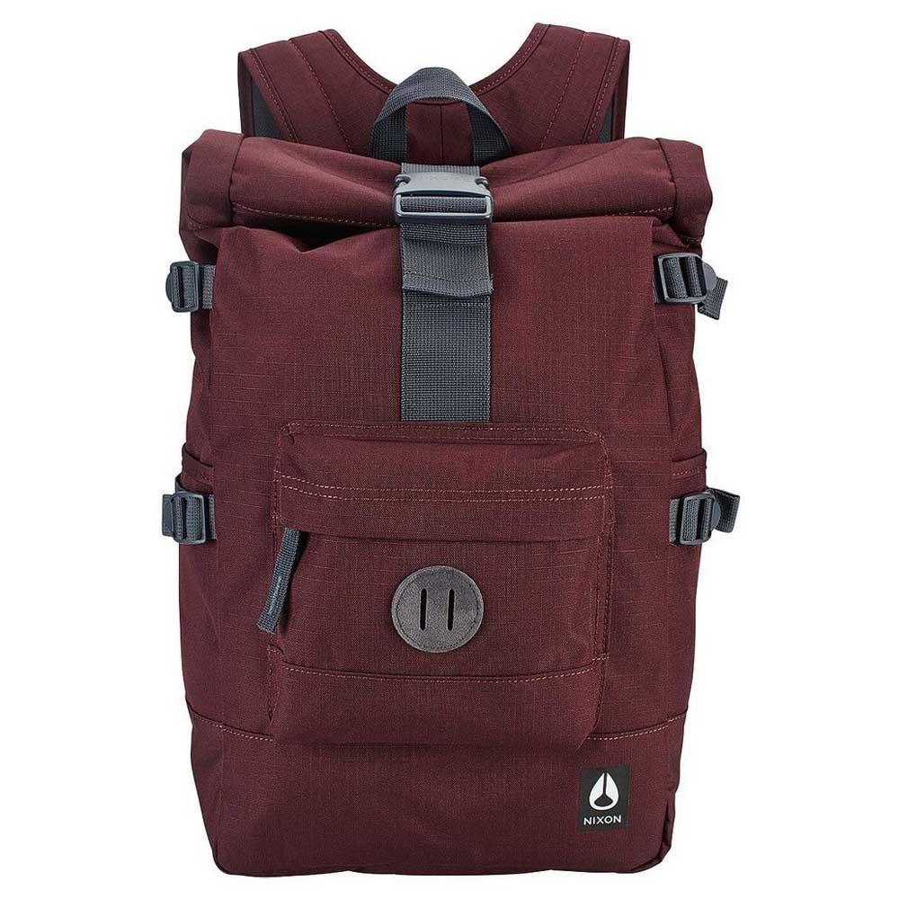 Red Nixon Small Landlock Backpack II