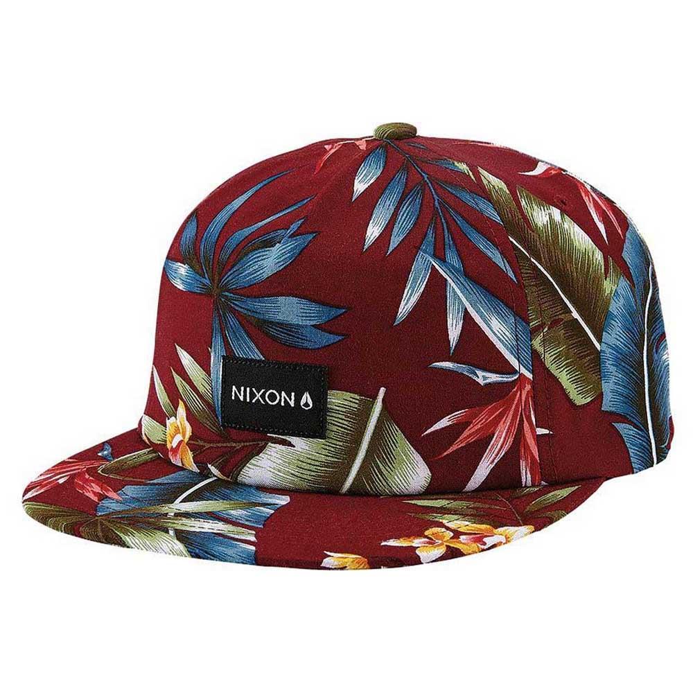6f3acf1651ccc Nixon Tropics Snapback Hat Rojo comprar y ofertas en Dressinn