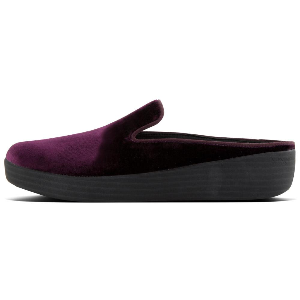 b94568ed62c4 Fitflop Superskate Mules Velvet Purple