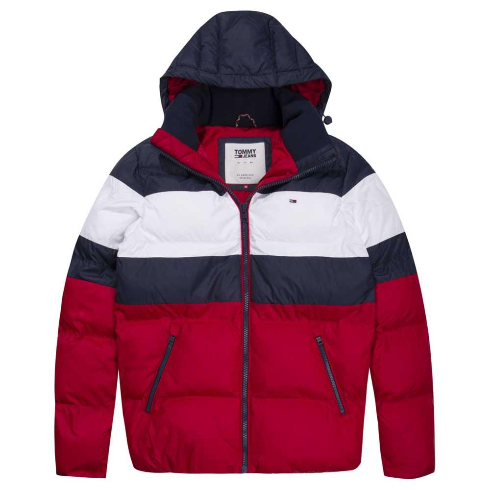 594be12a Tommy hilfiger Rugby Stripe Puffa Red buy and offers on Dressinn