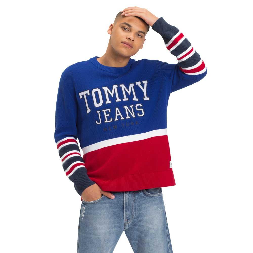 d1dee0a7 Tommy hilfiger Colorblock Logo Sweater Rød, Dressinn Gensere