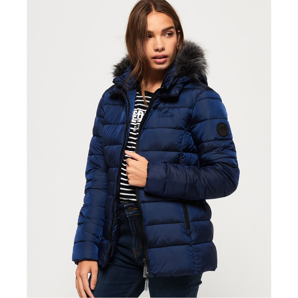 Superdry Taiko Padded Faux Fur